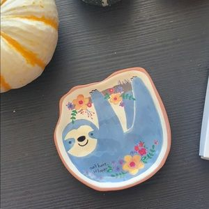 NEW Sloth Trinket Plate